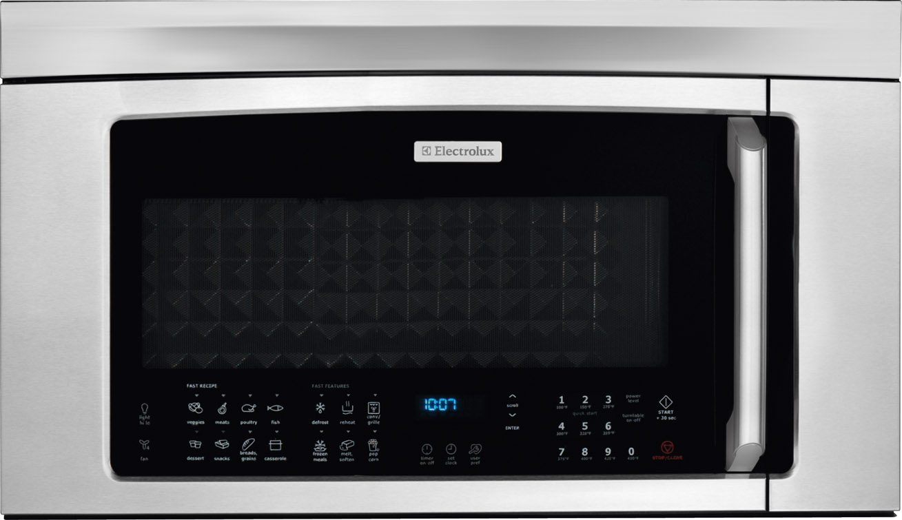 Electrolux Over The Range Microwave Stainless Steel Ei30bm60ms Oven Wiring Instructions