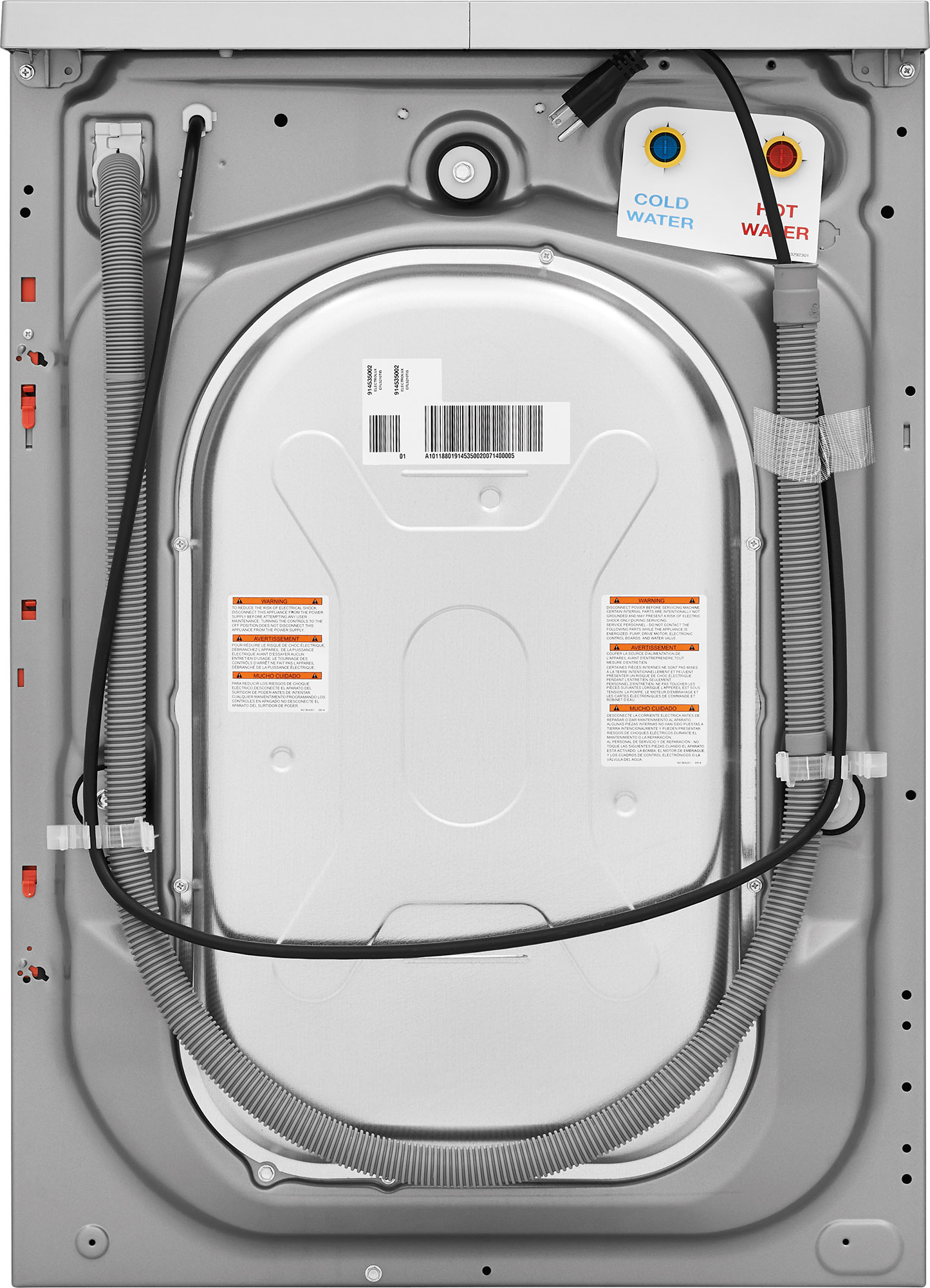 Electrolux Front Load Compact Washer Stainless Steel Efls210tis Home Washing Machine Wiring Diagram