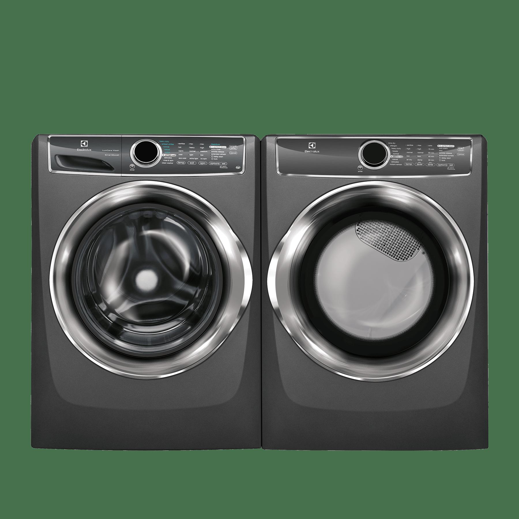 Electrolux Outdoor Kitchen: Electrolux Front Load Laundry Pair-Titanium