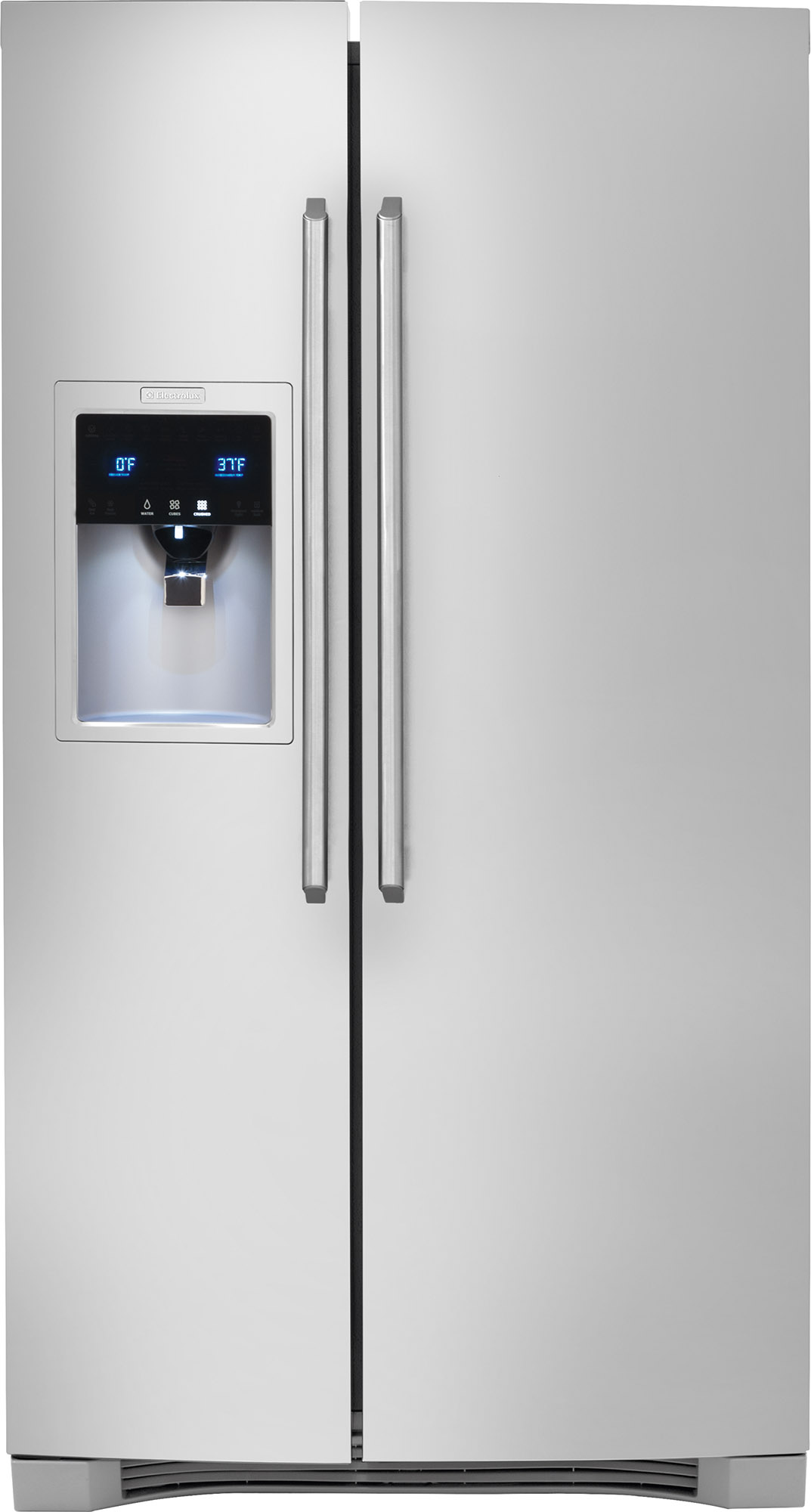 Electrolux 26.0 Cu. Ft. Side By Side Refrigerator Stainless  Steel EW26SS75QS. Electrolux Kitchen