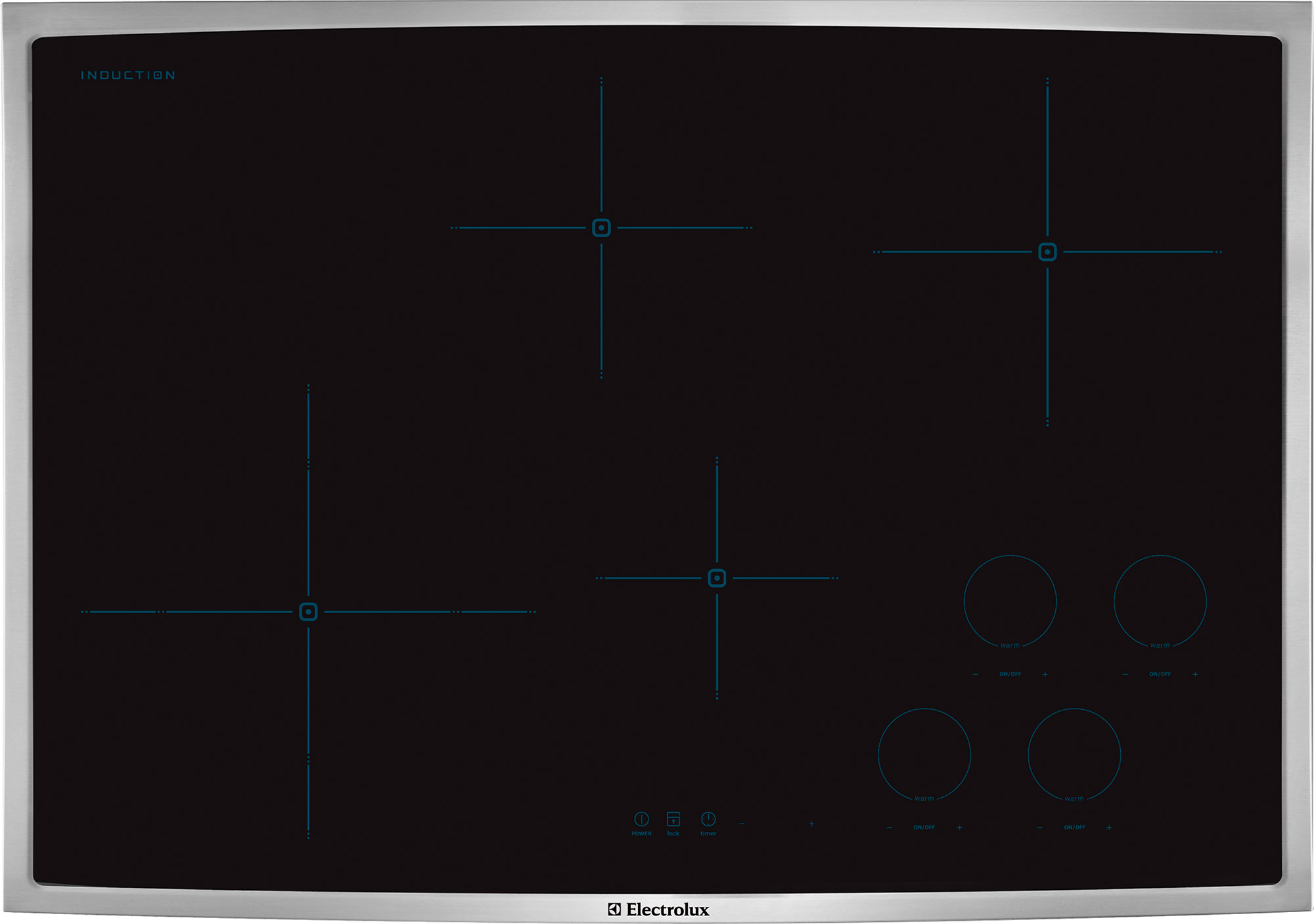 Electrolux 30 Induction Cooktop Ew30ic60l Appliances Vincennes Wall Oven Wiring Diagram Stainless Steel Ew30ic60ls