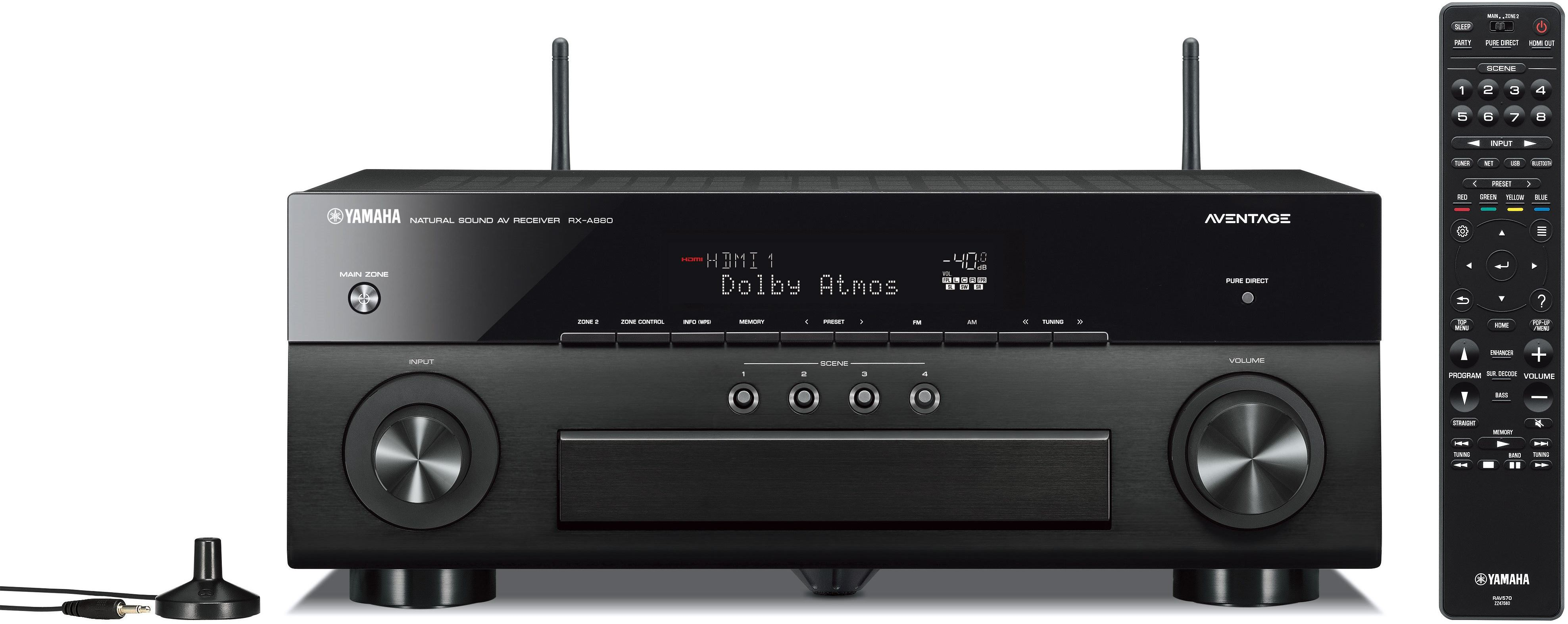 Yamaha Aventage 7 2 Channel AV Receiver-RX-A880BL Home