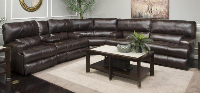 Excellent Catnapper Wembley 3 Piece Lay Flat Power Reclining Sectional 6458 Sect Pabps2019 Chair Design Images Pabps2019Com