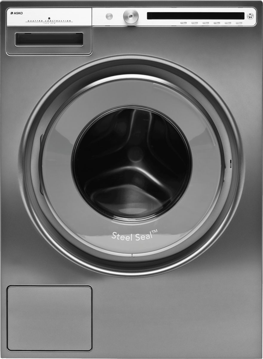 Asko Logic 2 8 Cu Ft Titanium Front Load Washer W4114ct