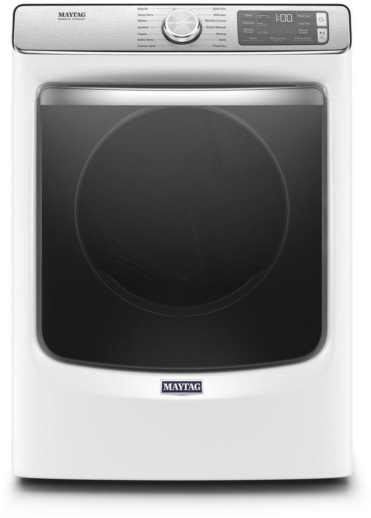 Maytag® 7 3 Cu  Ft  White Front Load Electric Dryer