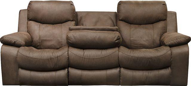 Catnapper 174 Palmer Saddle Power Lay Flat Reclining Sofa With Headrest 763955 1307 29 Western