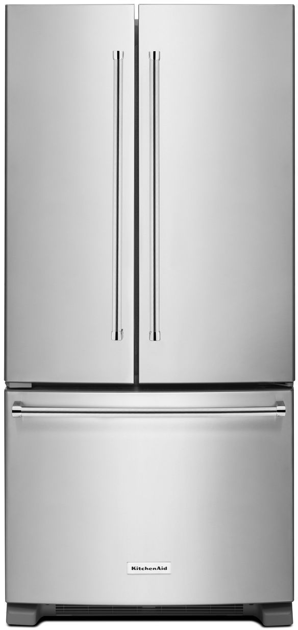 Kitchenaid 174 22 11 Cu Ft Stainless Steel French Door