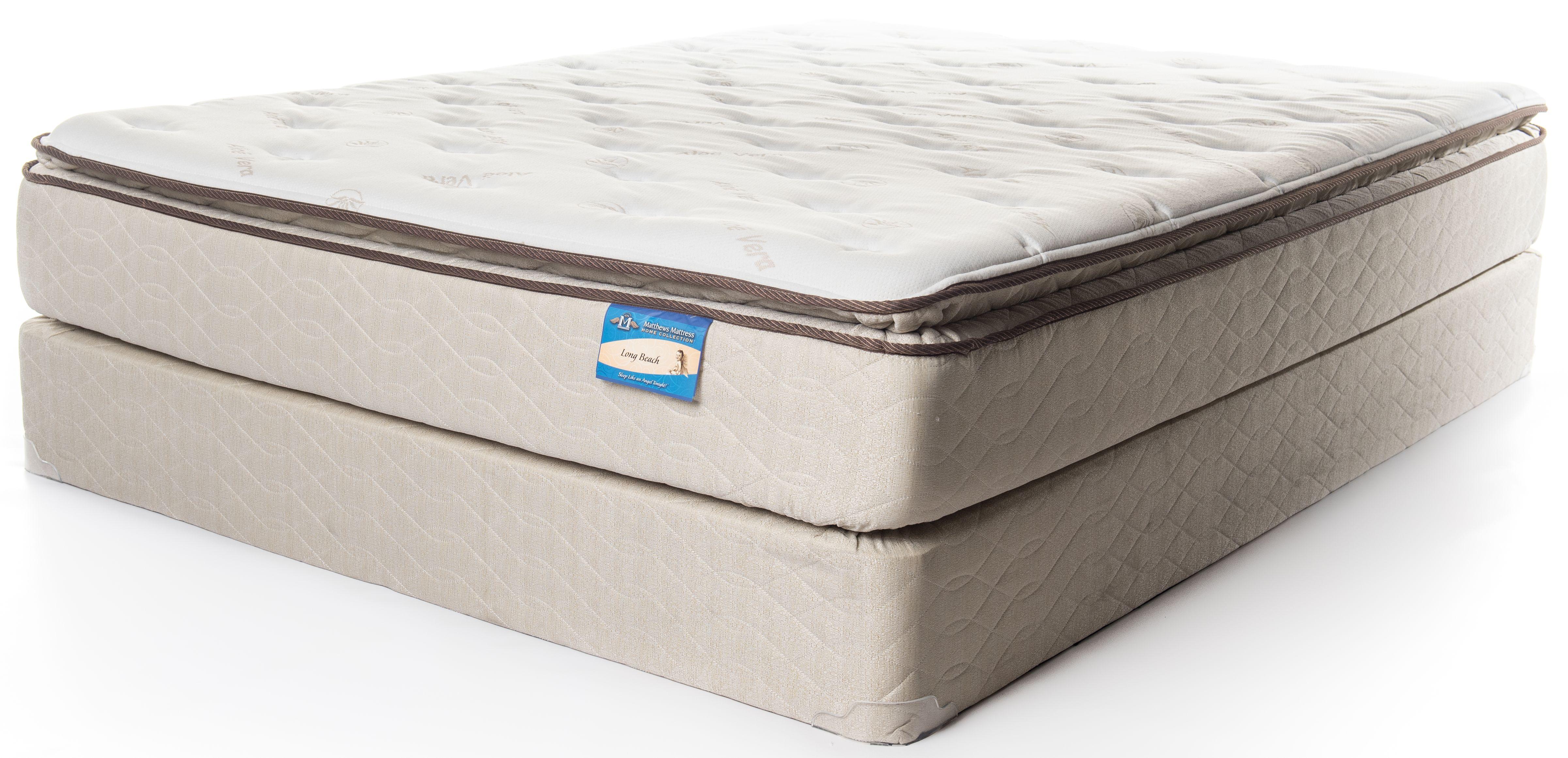 Matthews Mattress Home Collection Long Beach Pillow Top Queen Longbeach Pt