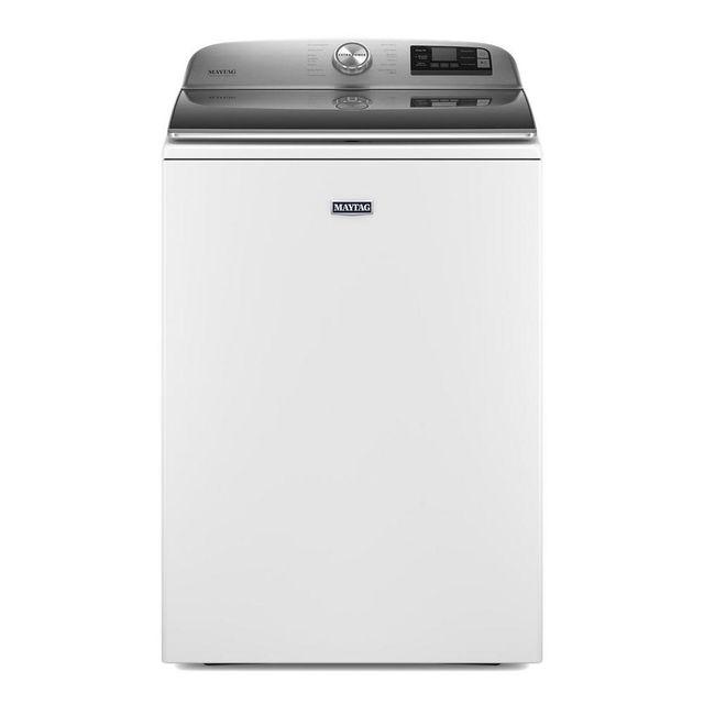 Maytag® 5.2 Cu. Ft. White Top Load Washer-MVW7230HW