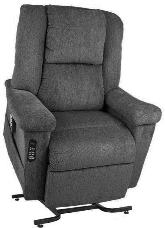 Ultra Comfort Stellar Comfort Slate Lift Chair Uc682 Slate