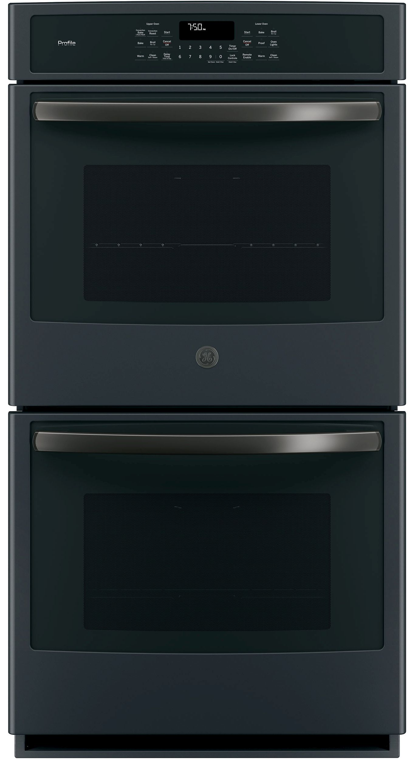 """GE Profile™ 27"""" Built in Double Oven-Black Slate-PK7500FMDS"""