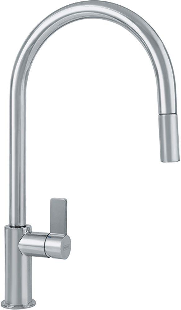 Franke Ambient Series Pull-Down Faucet-Satin Nickel-FF3180