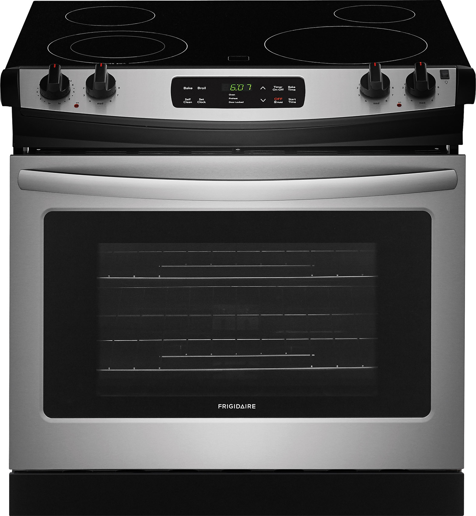 Frigidaire 30 Drop In Electric Range Stainless Steel Ffed3026ts