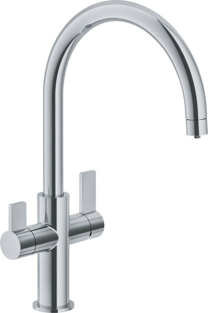 Franke FFP3180 Ambient Single Handle Pull-Down Kitchen Faucet Satin Nickel Standard Plumbing Supply
