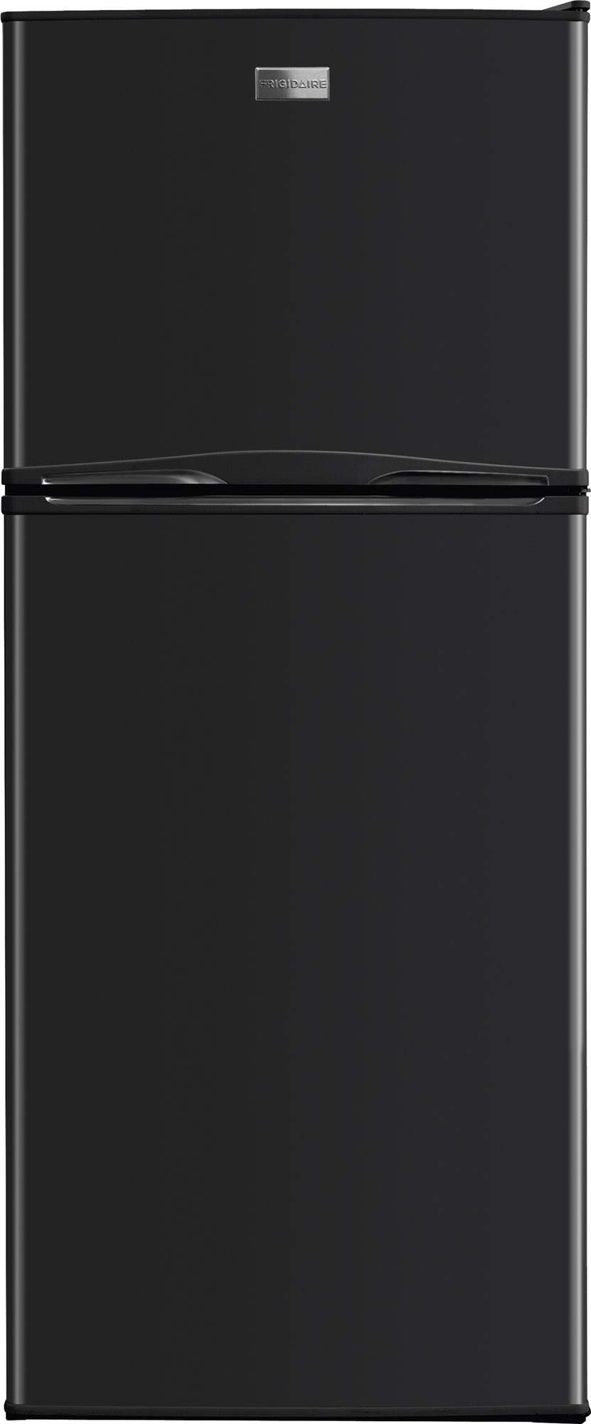 Frigidaire 12 Cu. Ft. Top Freezer Apartment Size Refrigerator-Black ...