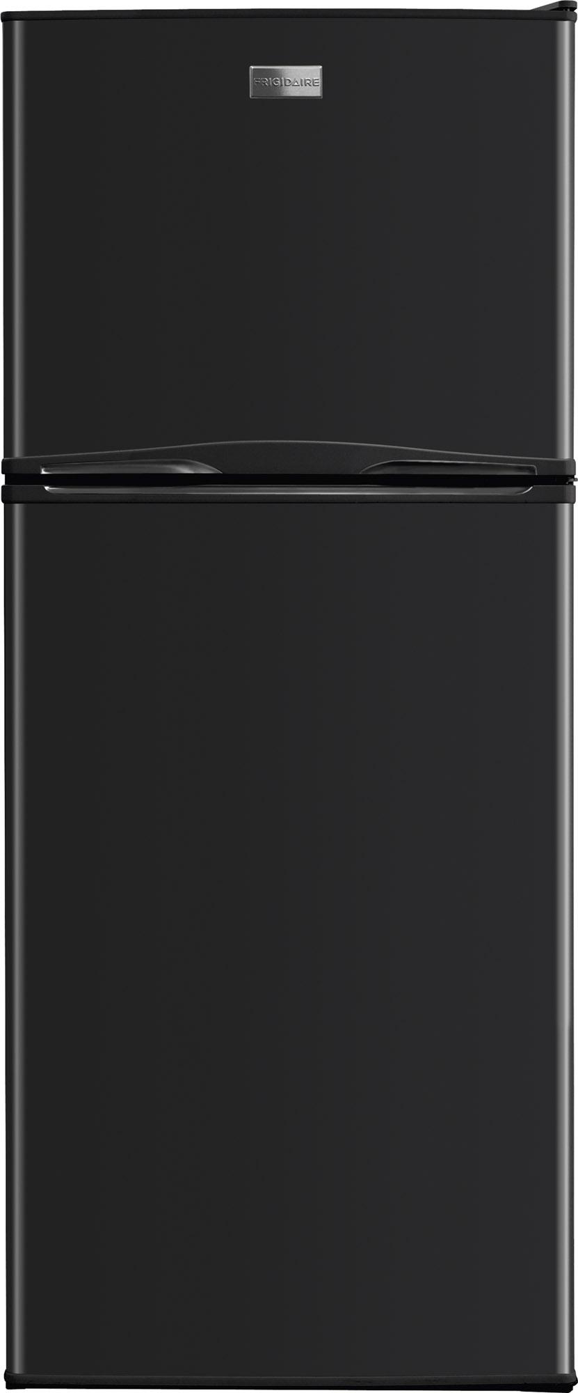 Frigidaire 12 Cu. Ft. Top Freezer Apartment Size Refrigerator-Black ...
