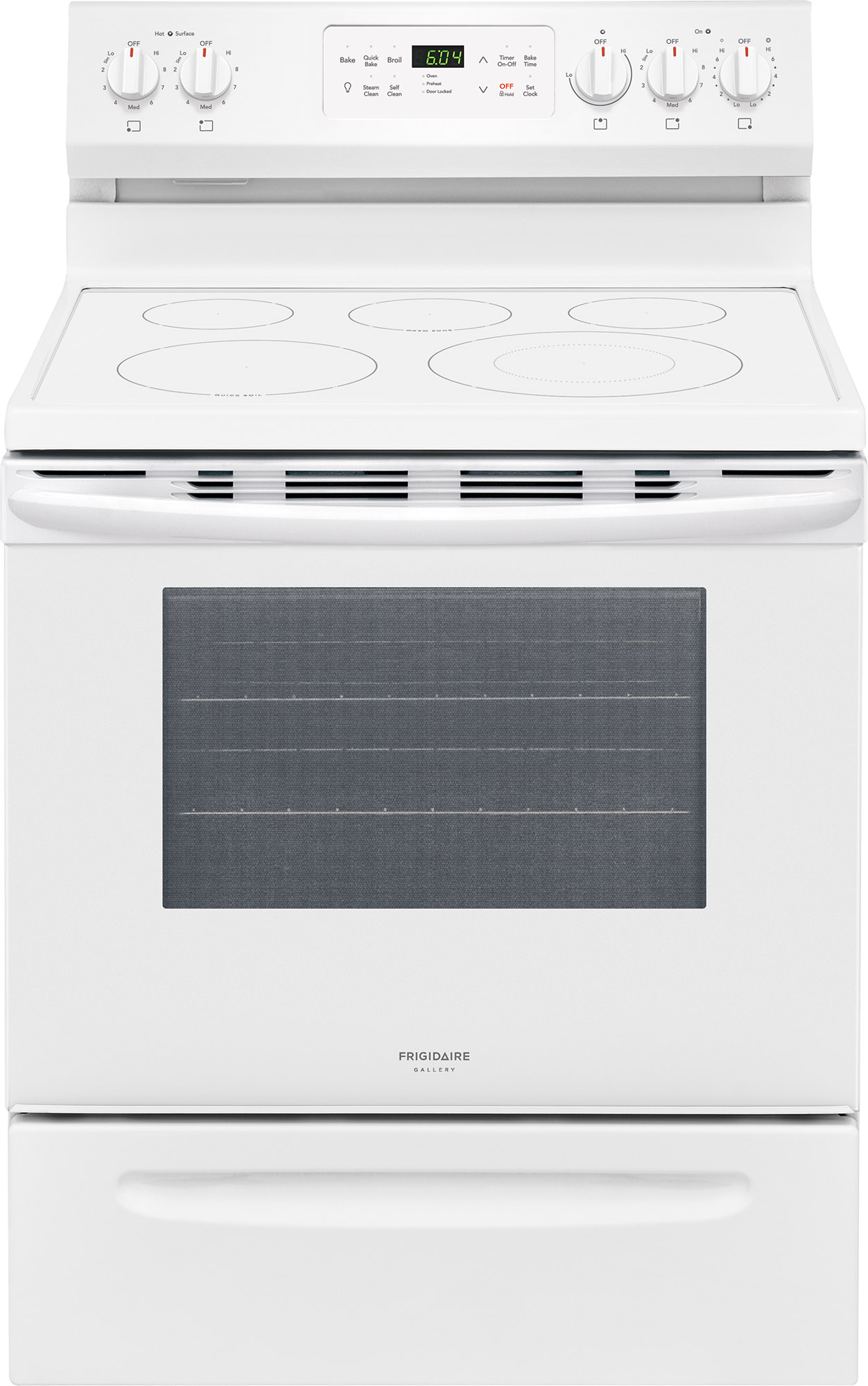 Frigidaire Gallery 30 Free Standing Electric Range White FGEF3036TW
