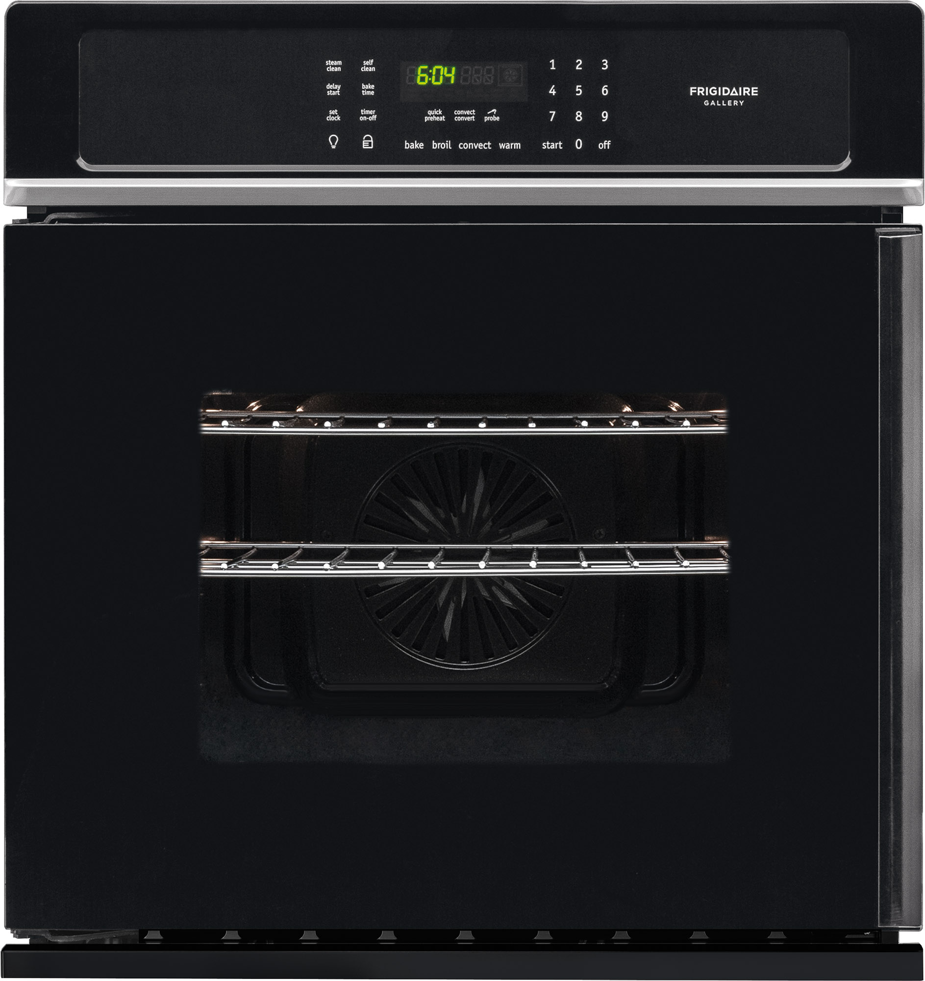 Frigidaire Gallery 27 Single Electric Wall Oven Black Fgew276spb 1450 Microwave Schematic Image Touch Control Panel Circuit