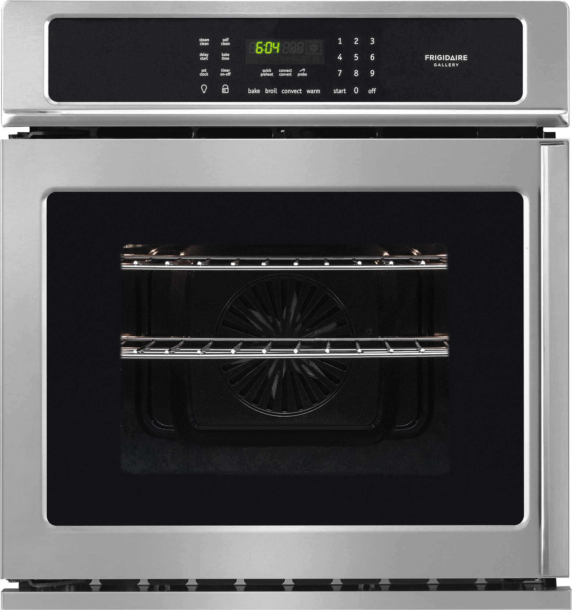 Frigidaire Gallery 27 Single Electric Wall Oven Stainless Steel
