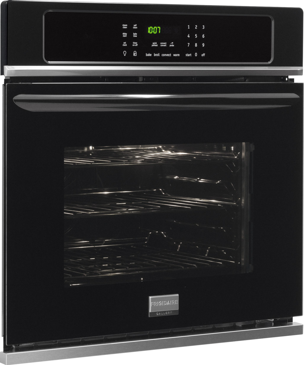 Frigidaire Gallery 30 Electric Single Oven Built In Black Electrolux Wall Wiring Diagram Fgew3065pb