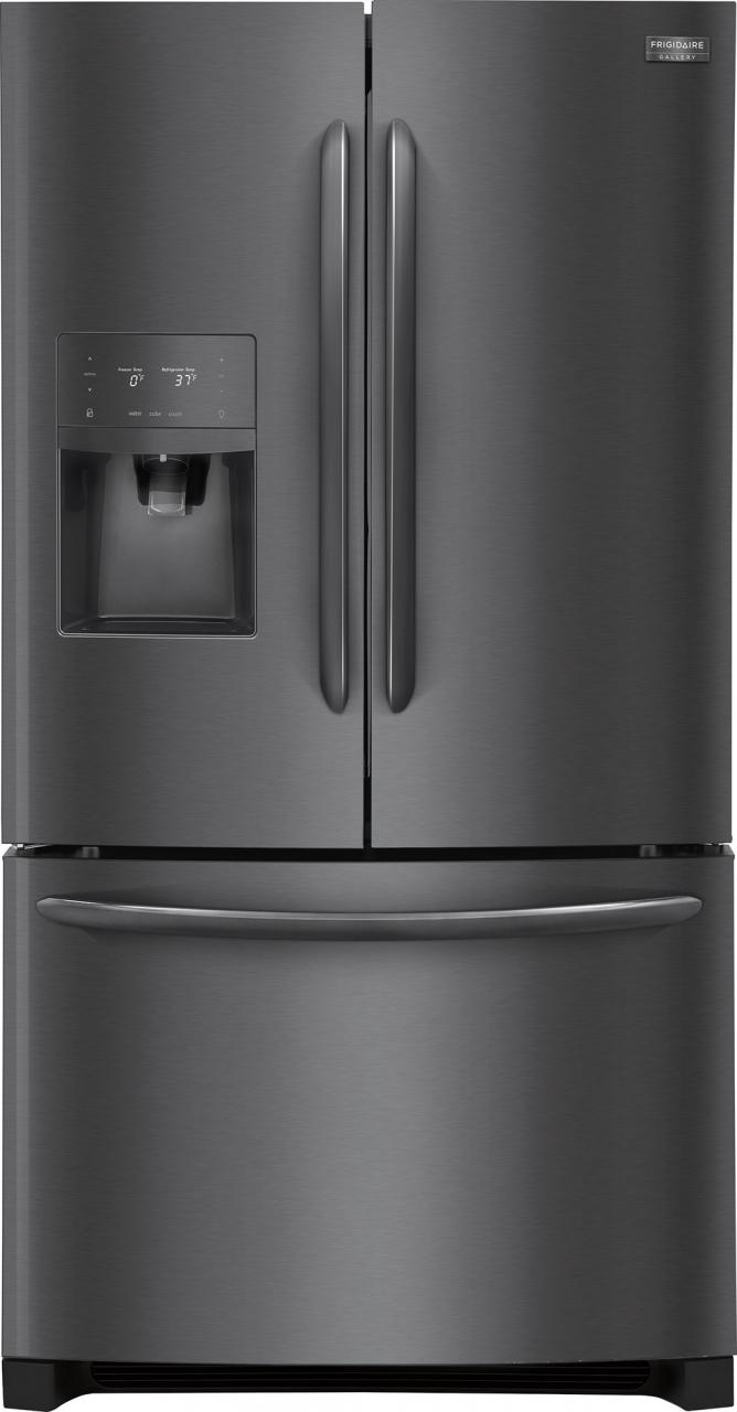 Attrayant Frigidaire Gallery® 21.7 Cu. Ft. Counter Depth French Door Refrigerator  Black