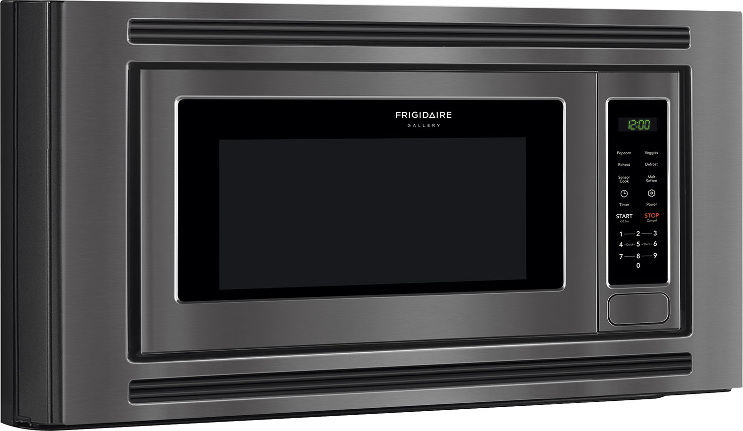 Frigidaire Gallery Built In Microwave Black Stainless Fgmo206ntd