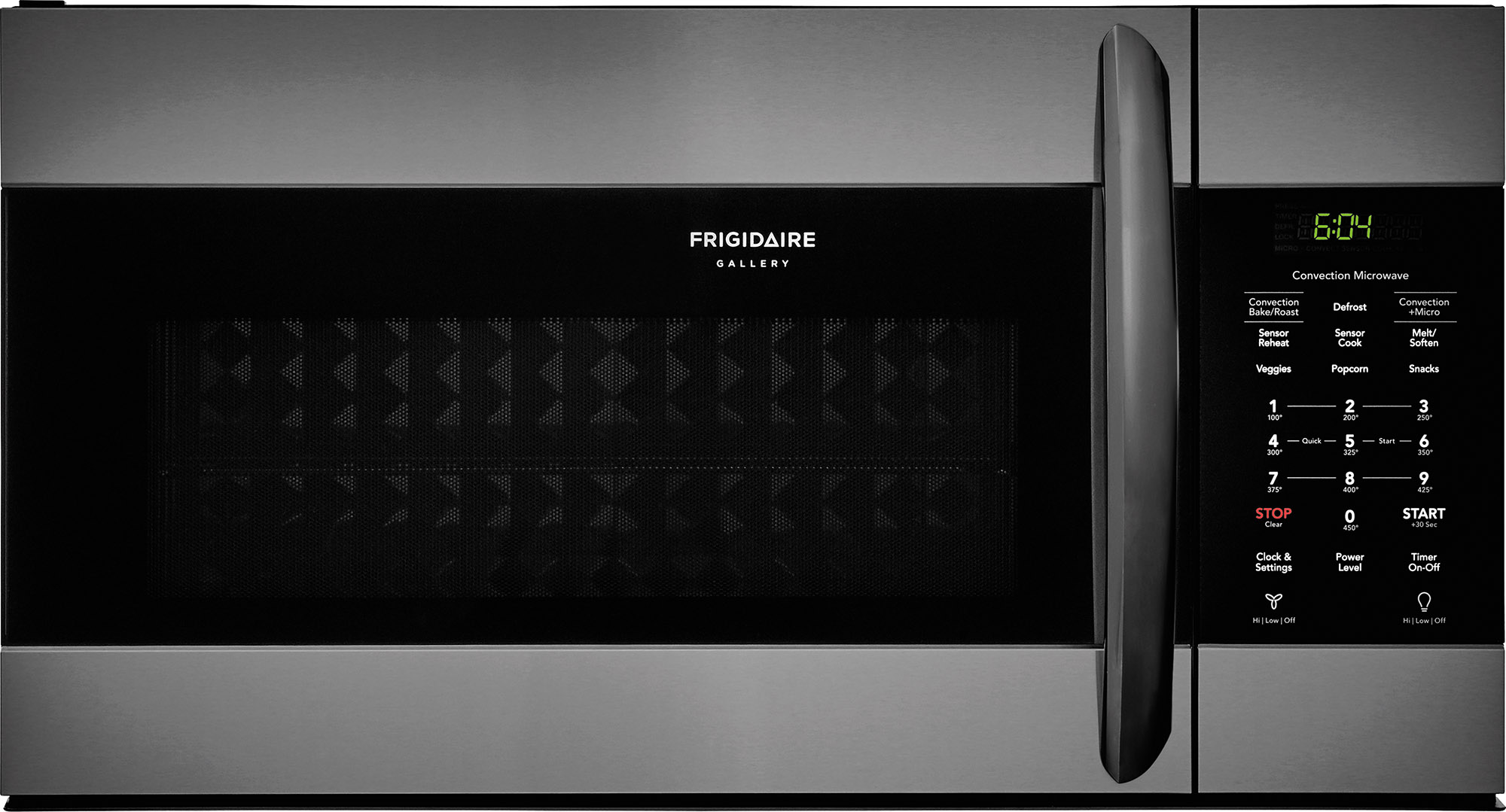 Frigidaire Gallery Over The Range Microwave Black Stainless Steel Fgmv155ctd