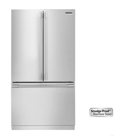 Frigidaire Professional® 22 Cu. Ft. Counter Depth French Door Refrigerator Stainless  Steel