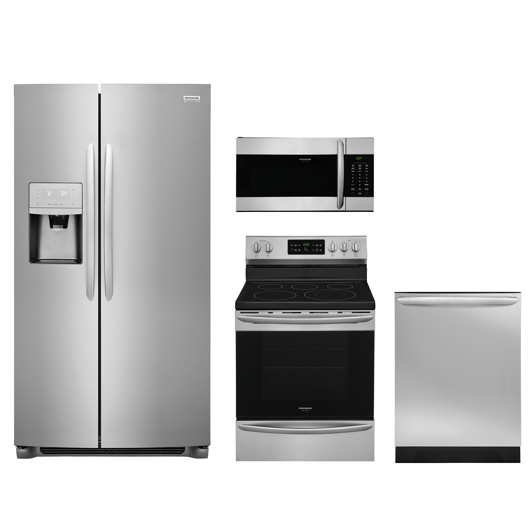 Medium image of frigidaire gallery   4 piece kitchen package stainless steel