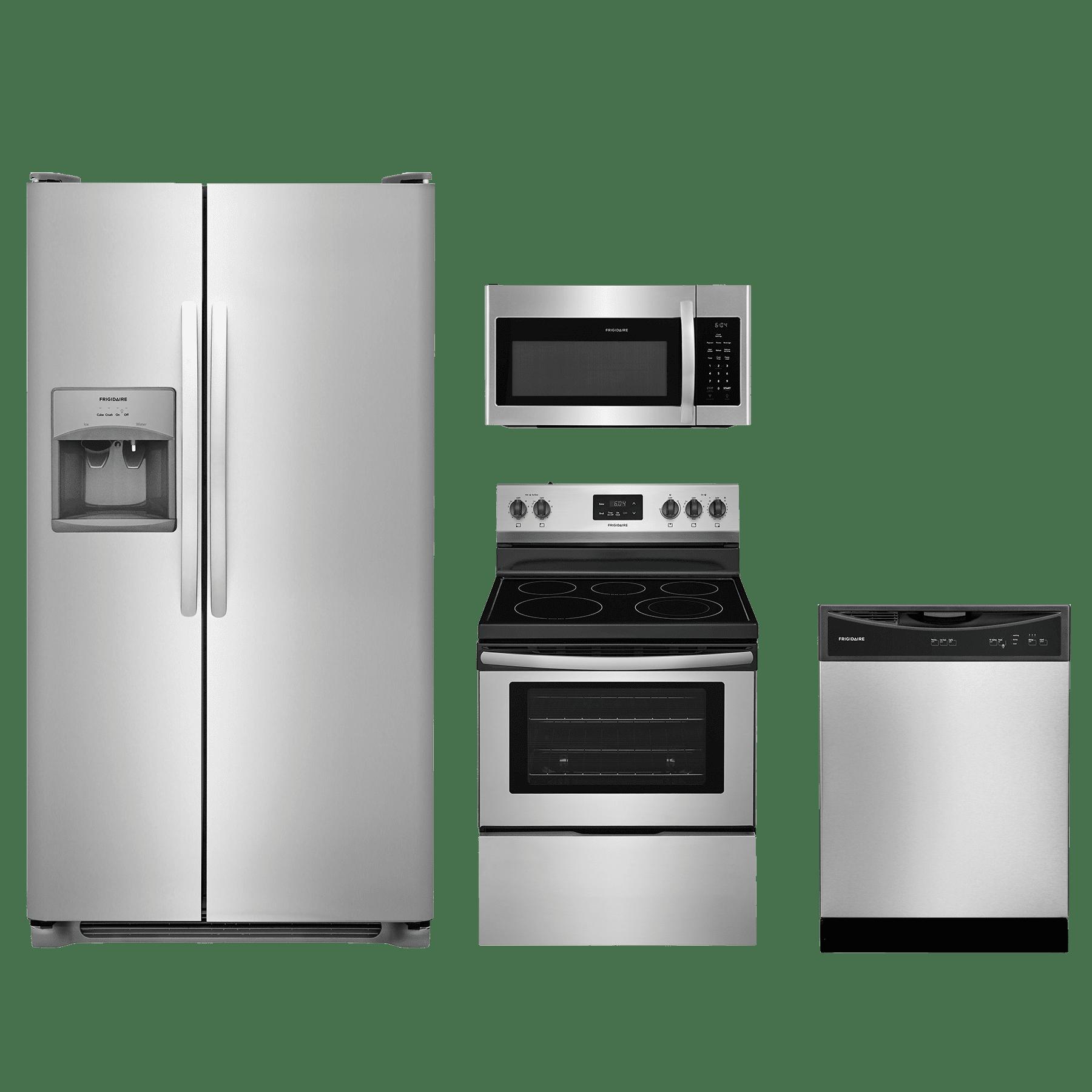 Frigidaire® 4 Piece Kitchen Package-Stainless Steel