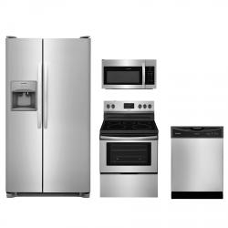 Frigidaire® 4 Piece Kitchen Package Stainless Steel FRKITFFEF3052TS