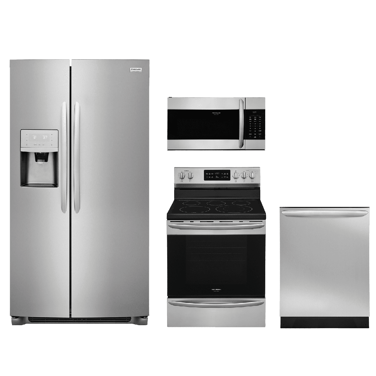 Exceptional Frigidaire Gallery® 4 Piece Kitchen Package Stainless  Steel FRGAKITFGEF3036TF