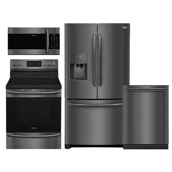Frigidaire Gallery Black Stainless Steel Kitchen Package