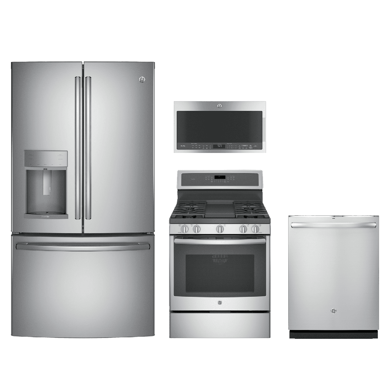 Ge Kitchen Suite Kitchen appliance packages ge profile 4 piece kitchen package stainless steel geprkitpgb911sejss workwithnaturefo