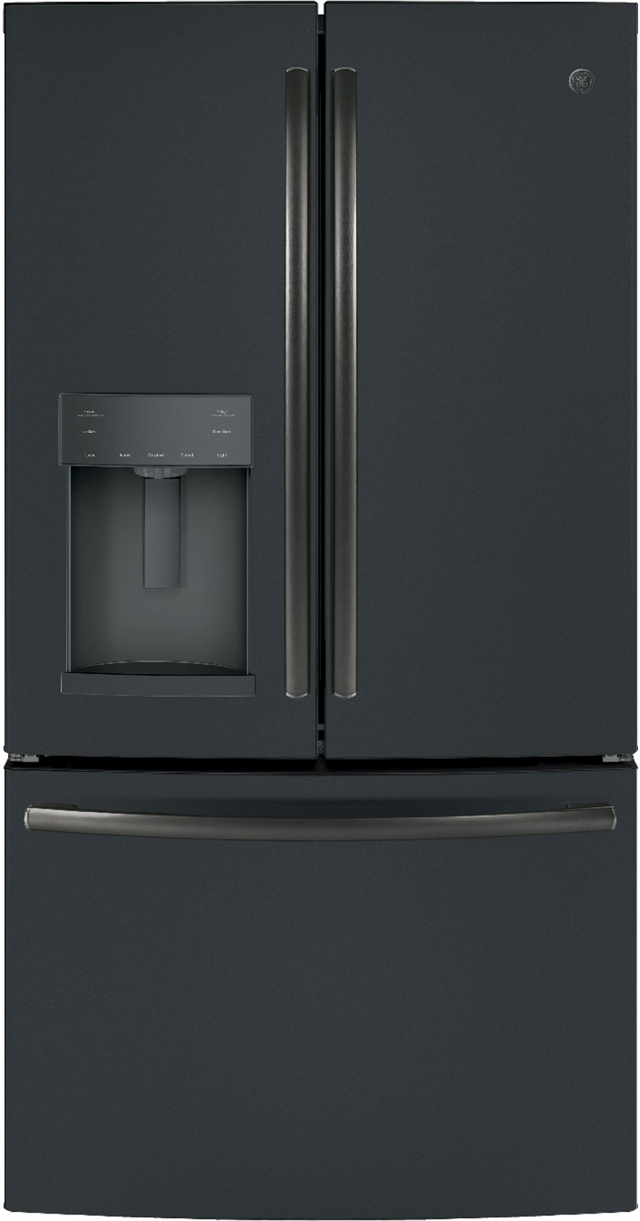 278 cu ft french door refrigerator black slate gfd28gelds ft french door refrigerator black slate gfd28gelds rubansaba