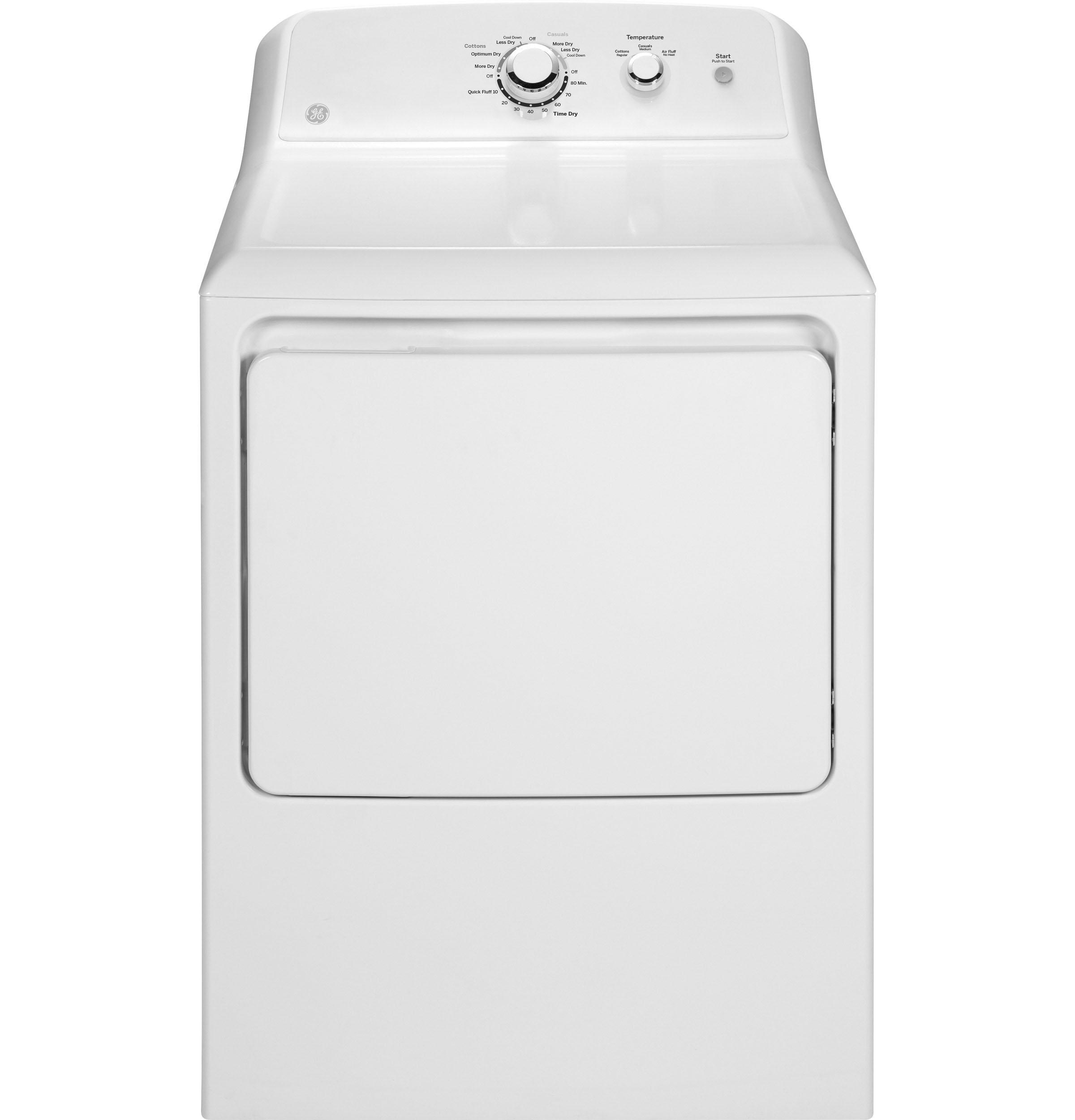 Ge 174 Front Load Gas Dryer White Gtd33gaskww Kitchen