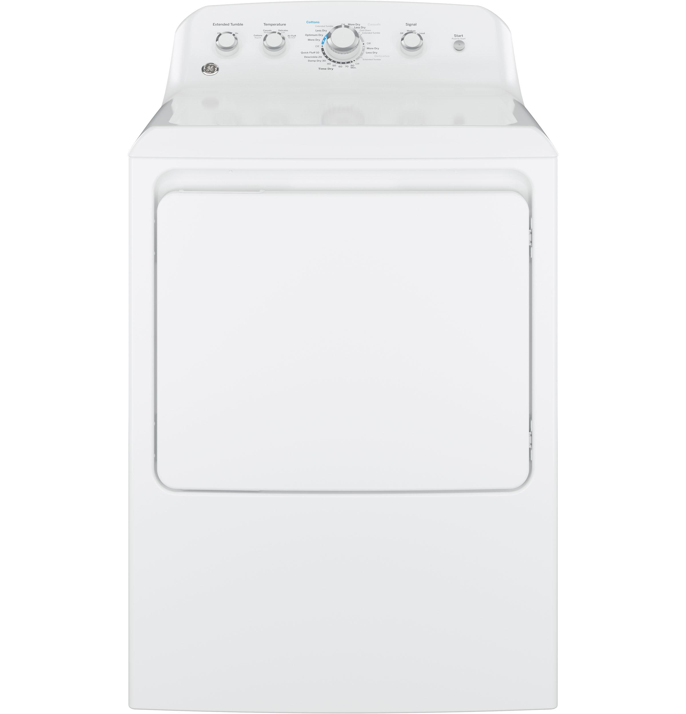 Shop Appliances In Springfield Il Dick Van Dyke Appliance World Dryer Belt Diagram Also Whirlpool Microwave Oven On Ge Electric White Gtd42easjww