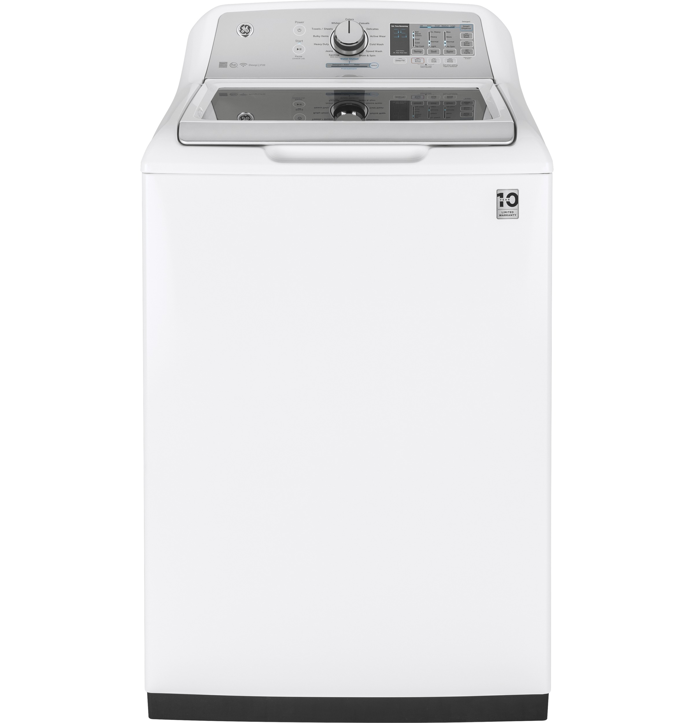 Ge 174 Top Load Washer White Gtw750c Home Appliances
