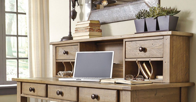 home office desk with hutch. Home Office Desk With Hutch. Ashley® Hutch-h659-48 Hutch