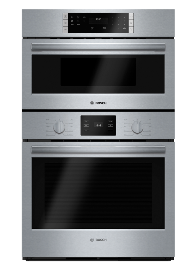 Bosch 500 Series 30 Microwave Combination Oven Stainless Steel Hbl57m52uc