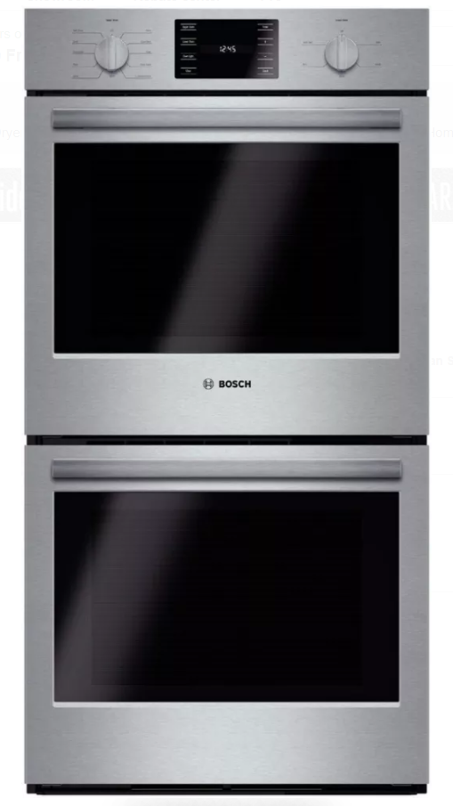 Bosch 500 Series 27 Electric Double Oven Built In Stainless Steel Hbn5651uc