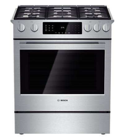Bosch 800 Series 30 Quot Slide In Dual Fuel Range Stainless
