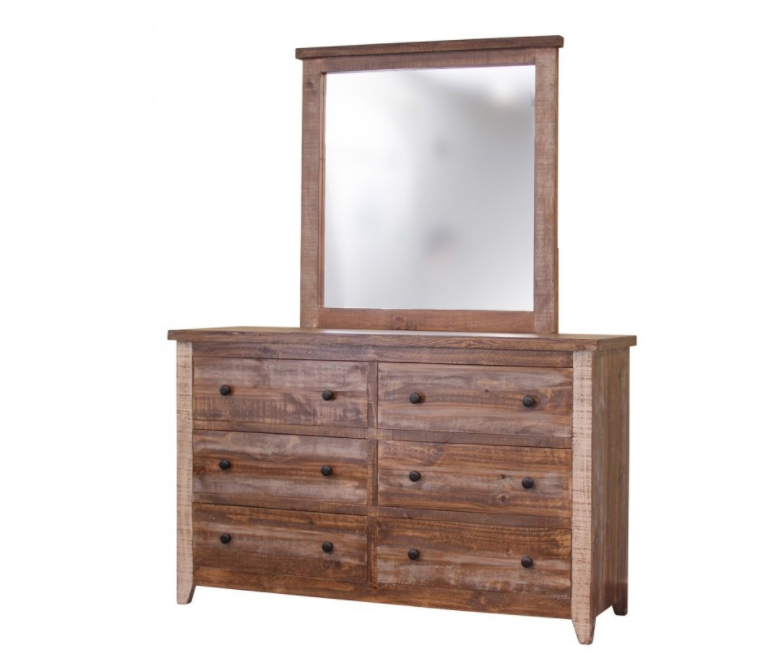 International Furniture 964 Antique Youth Storage 6 Drawer Dresser IFD964DSR