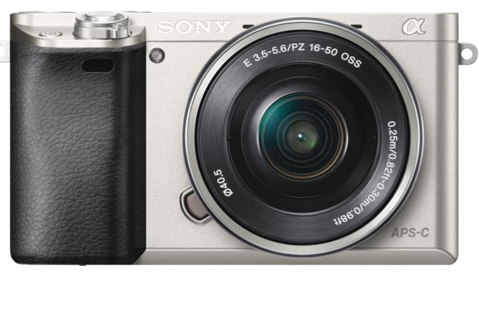Sony Mirrorless DSLR Digital Camera-Silver-ILCE6000L/S