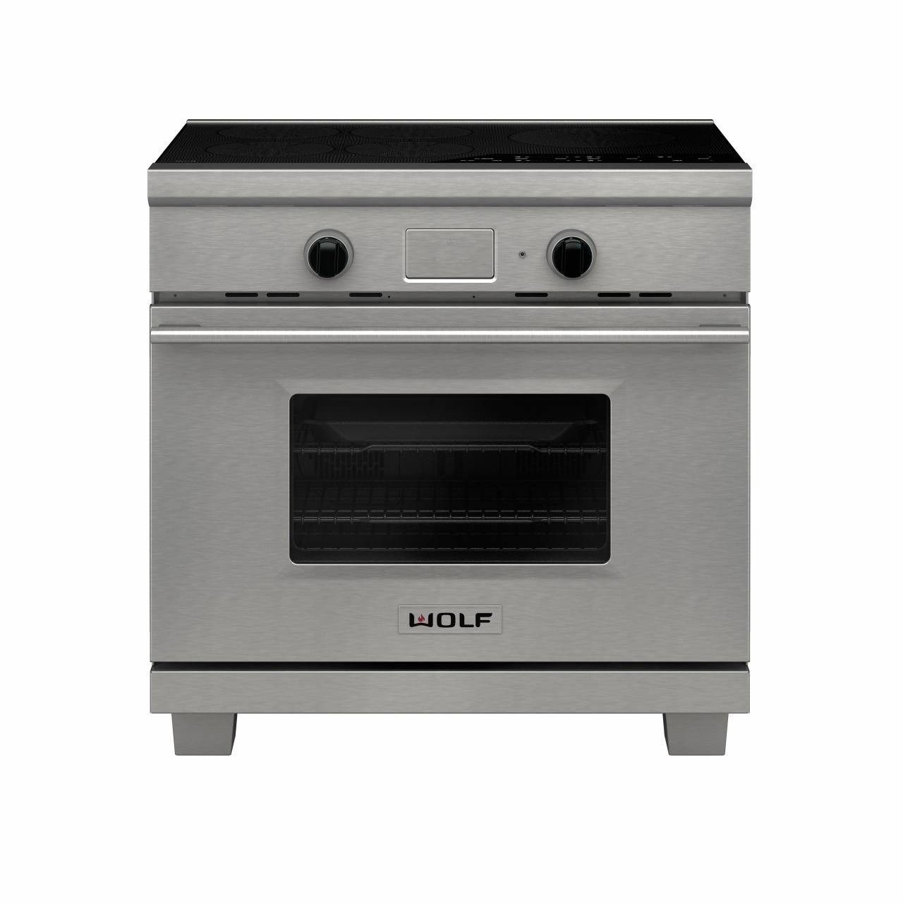 Wolf 36 Transitional Induction Range Stainless
