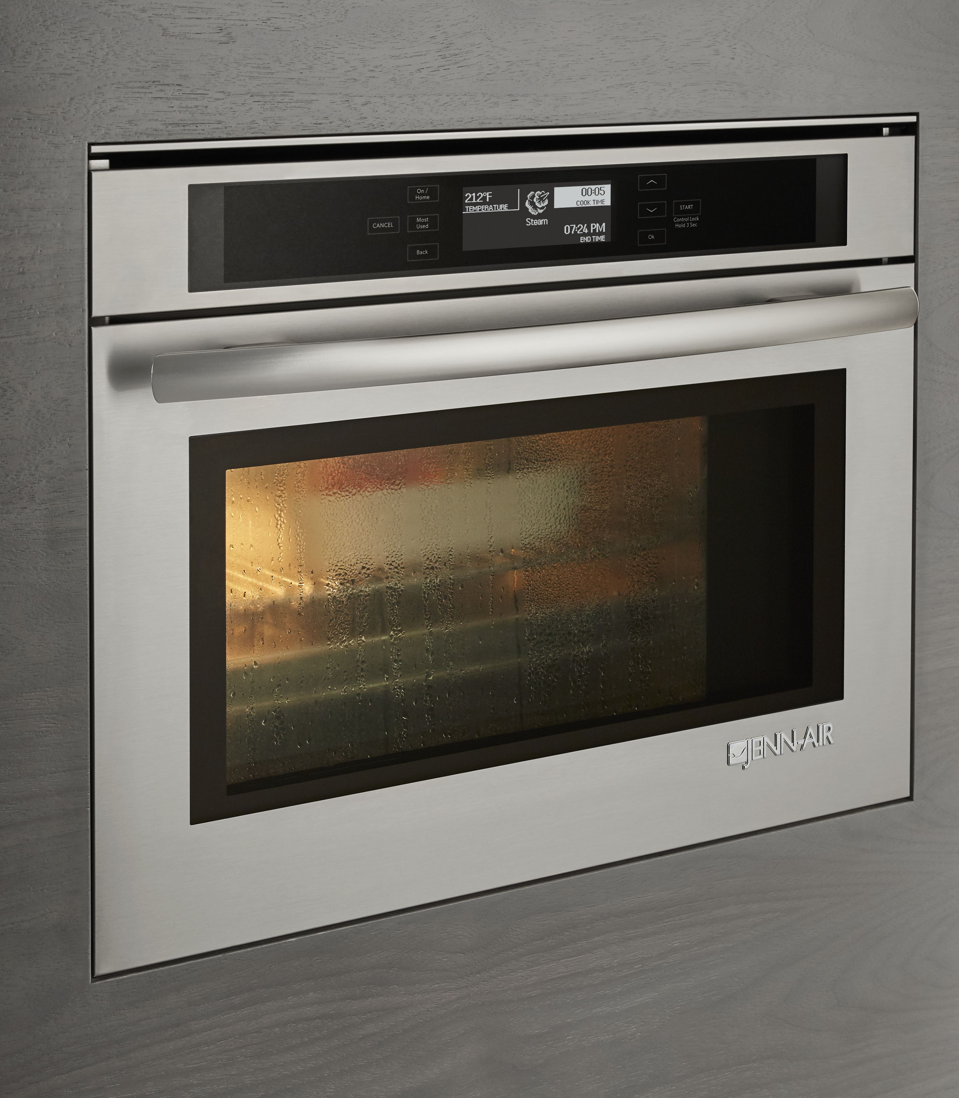 Jenn Air 24 Electric Single Steam And Convection Built In Oven Stainless