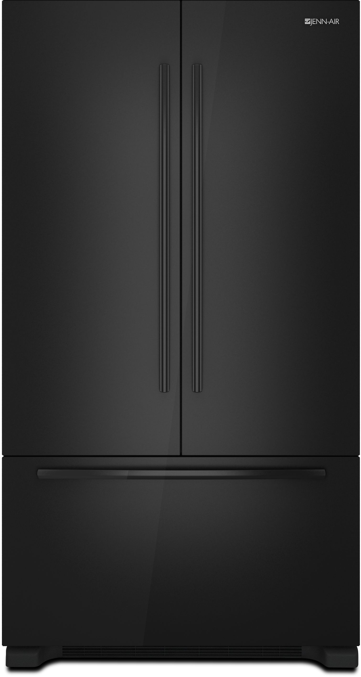 Jenn Air 219 Cu Ft Counter Depth French Door Refrigerator Black