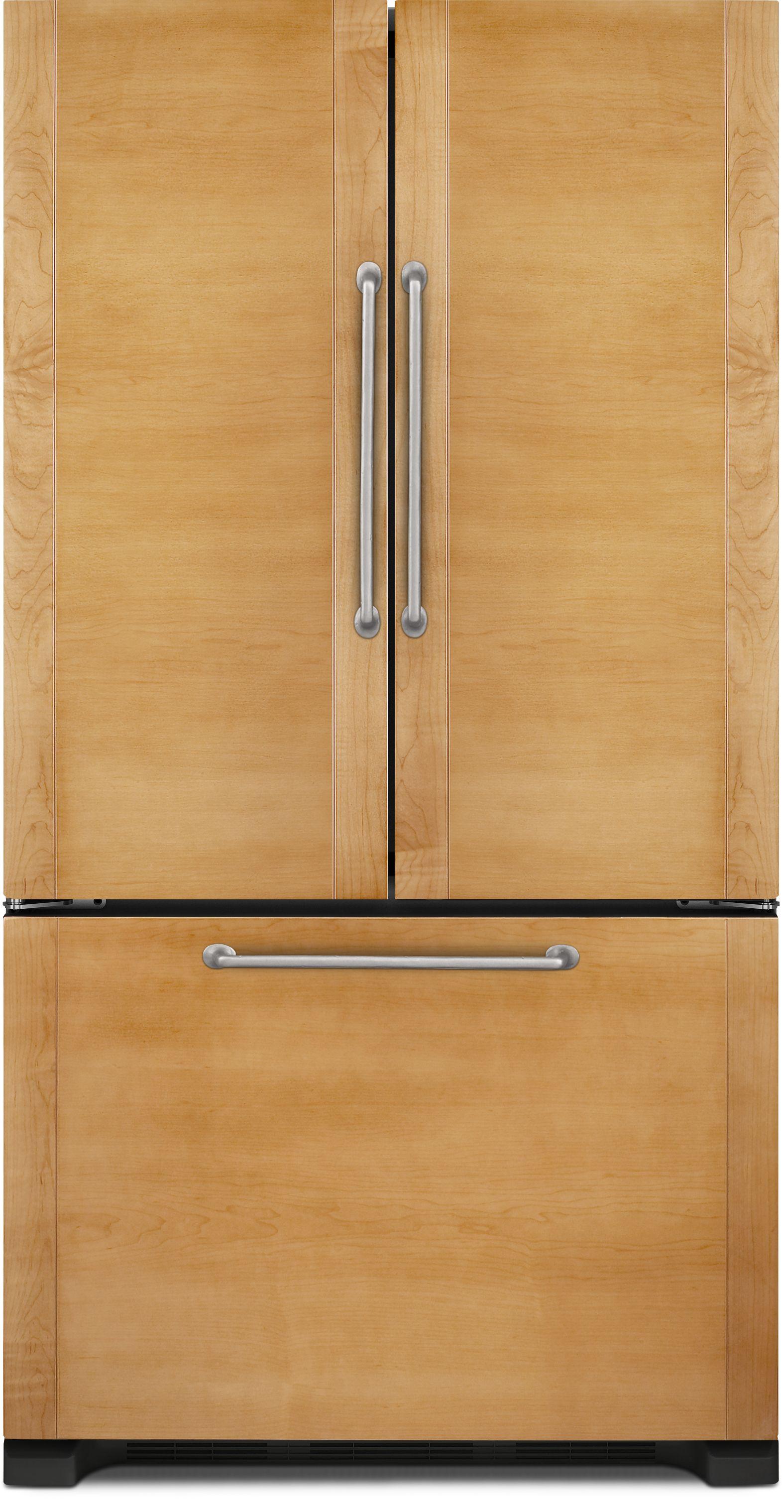 Jenn Air 219 Cu Ft Counter Depth French Door Refrigerator Panel