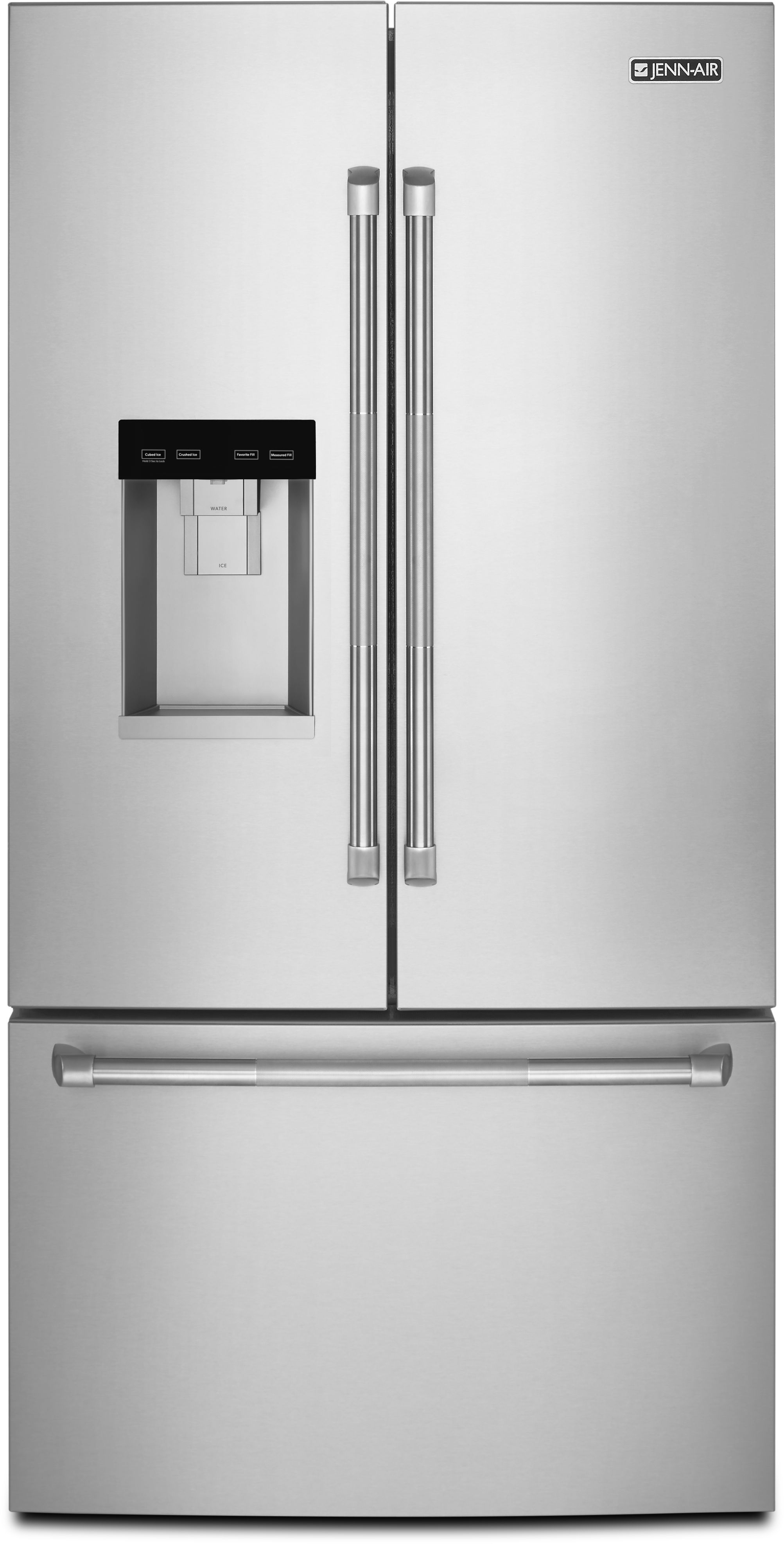 Jenn-Air® 24 Cu. Ft. Counter-Depth French Door Refrigerator- ...