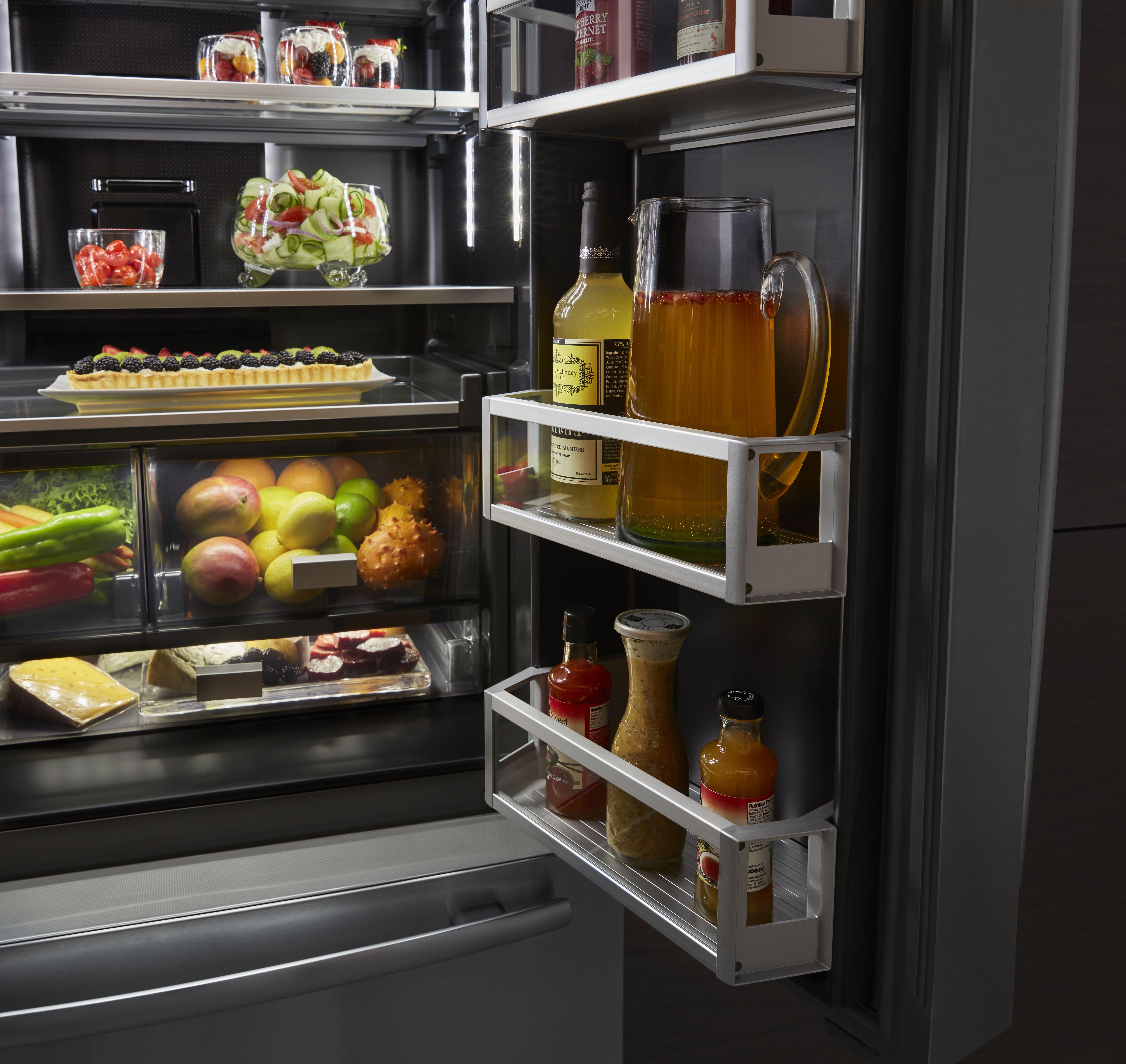 Jenn Air 24 Cu Ft Counter Depth French Door Refrigerator